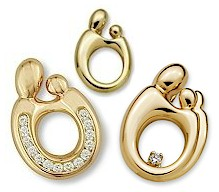 Mother and child pendants 14k gold mother child pendants are available as mother and child mother and two children or mother and 3 children click on the design of interest for pricing aloadofball Images