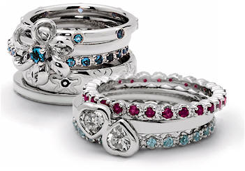 Rings on Mothers Rings  Birthstone Eternity Ring Designs